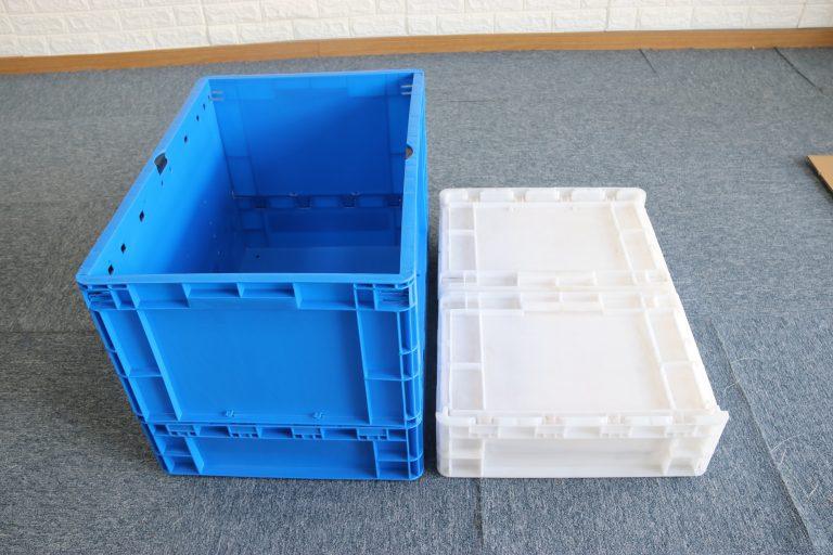 Что хорошего в пластиковых ящиках для овощей и фруктов?